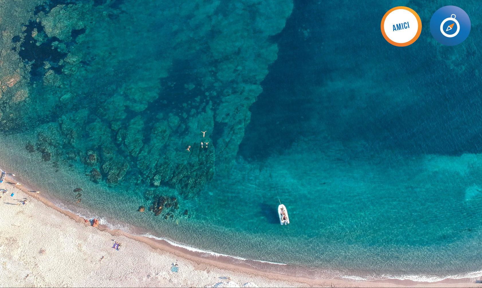 mare e spiaggia della Corsica