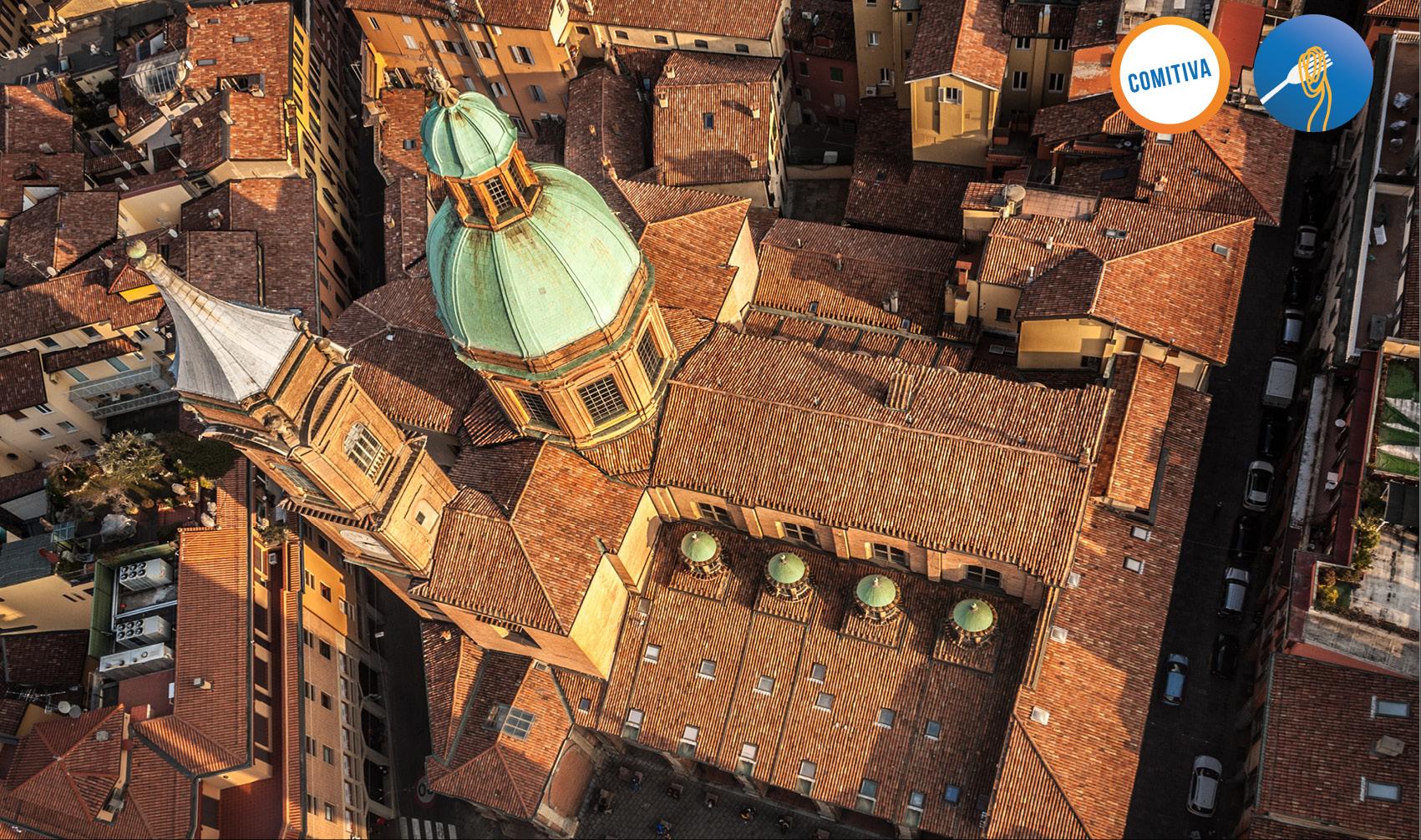Bologna vista dall'alto - Torre Asinelli