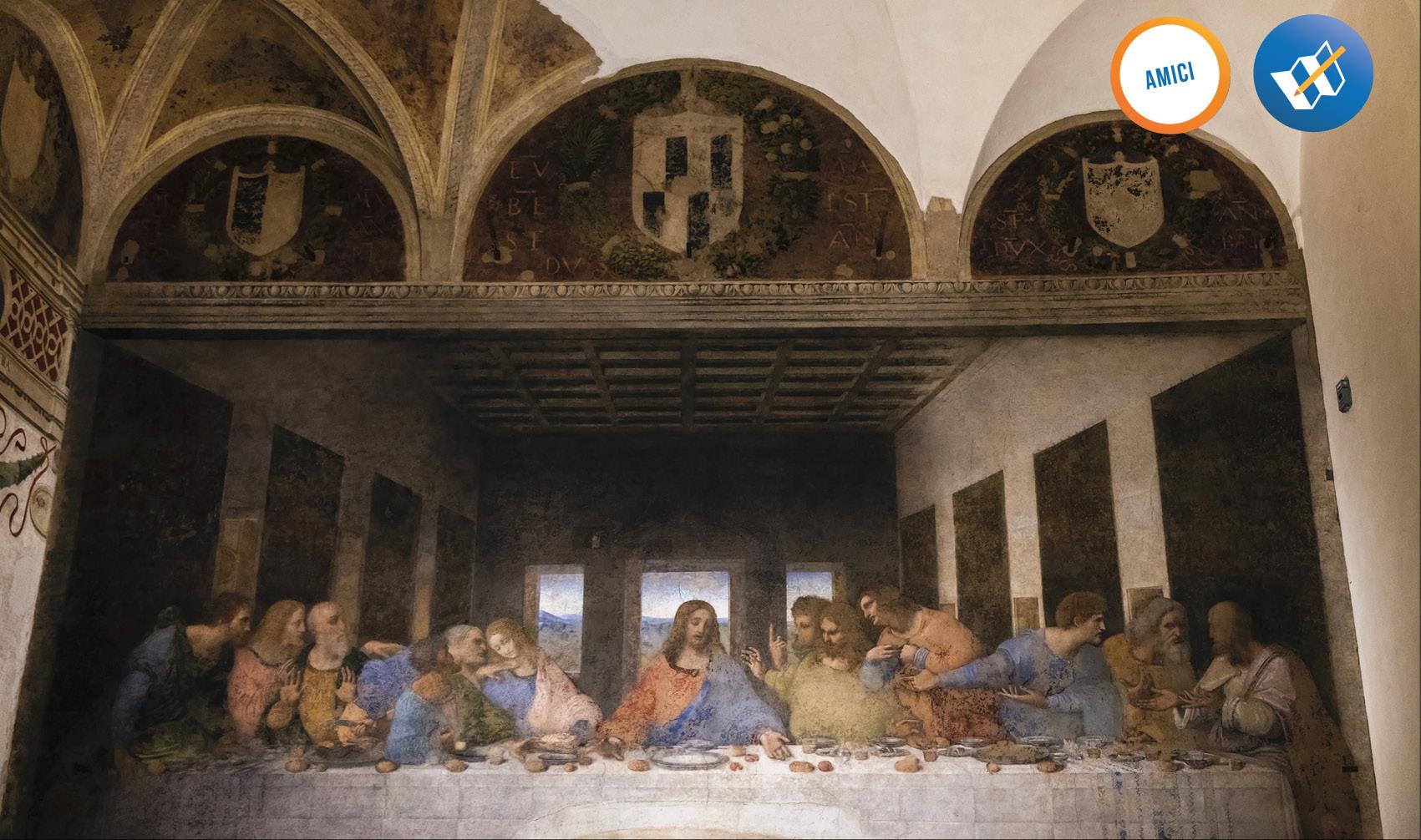 cenacolo Leonardo Da Vinci - dipinto