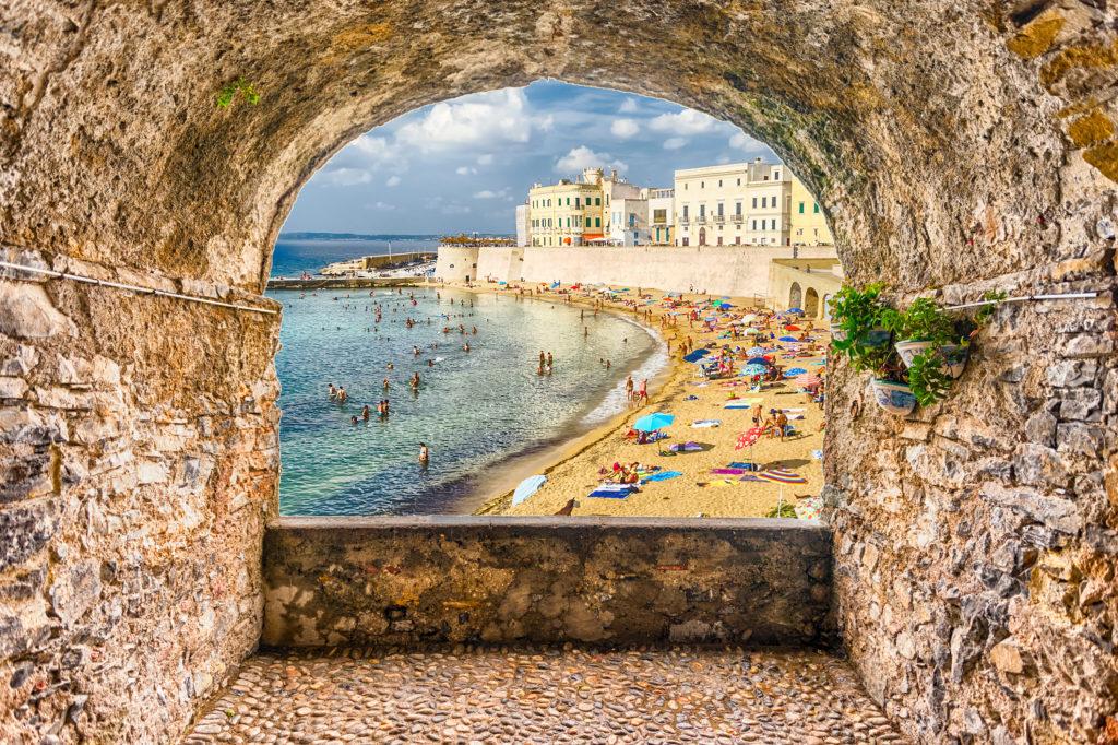 Gallipoli - vista spiaggia